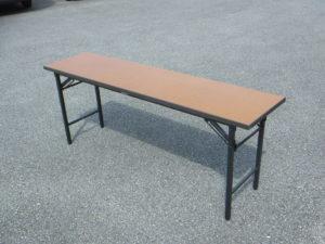 会議用テーブル茶色